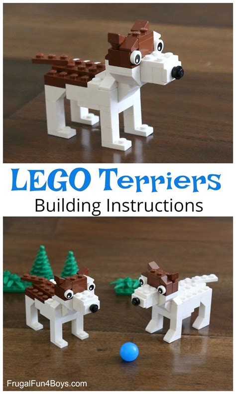 lego dog tutorial 1198 best frugal fun for boys and girls images on