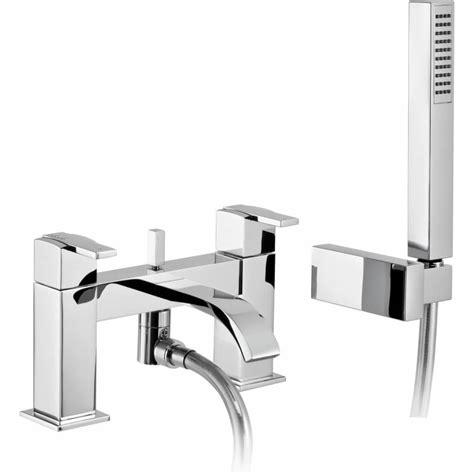 deck mounted bath shower mixer abode iso deck mounted bath shower mixer