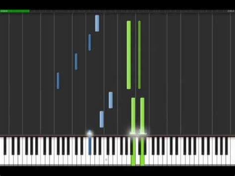 tutorial piano canon canon in d piano tutorial fast youtube