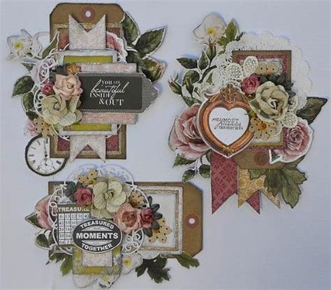 tutorial tags scrapbook 553 best images about scrapbook tags on pinterest tags