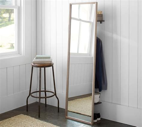 Pottery Barn Floor Ls Clothing Rack With Floor Mirror Pottery Barn
