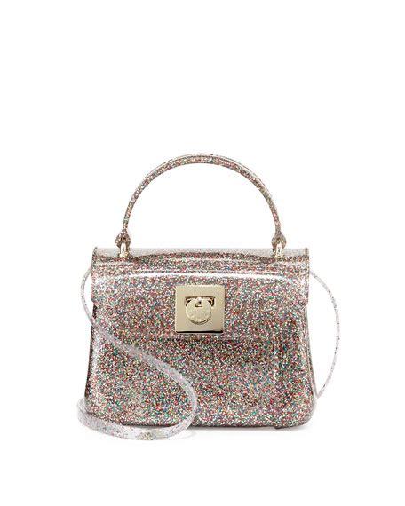 Glittered Crossbody Bag furla bon bon glittered mini crossbody multi