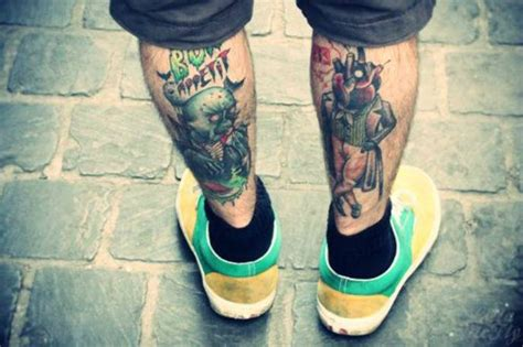 mens tattoo leg designs 25 simplistic leg tattoos for that exactly what you