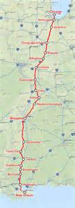 Map Memphis To New Orleans by City Of New Orleans Train Wikipedia