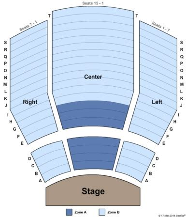 tulsa pac seating capacity tulsa performing arts center williams theatre tickets in