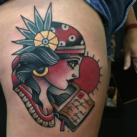 american traditional gypsy tattoo neo traditional traditional neo