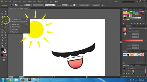 shape pathfinder adobe illustrator cs6 basics shapes and pathfinder tool