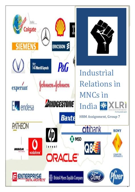 Industrial Relations Notes For Mba Students by Industrial Relations Of Mncs In India