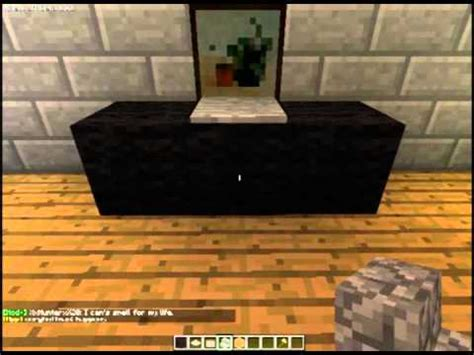 how to build a computer desk how to make a computer desk in minecraft youtube