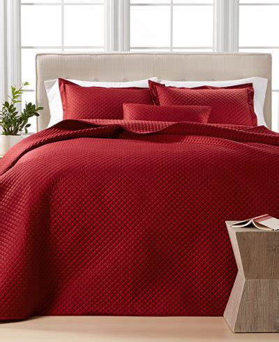 macy s coverlet closeout charter club damask quilted king 3 pc coverlet