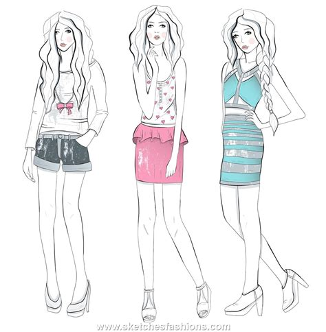 Sketches Clothes by The Designer Is Designers Are Required To In An