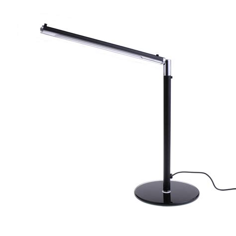 Led Office Desk L Black 24 Led Adjustable Simple Desk L Table For Home Office Workplace Etc Ebay