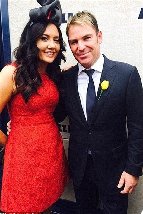 lydia schiavello ex husband shane warne and married lydia schiavello caught getting