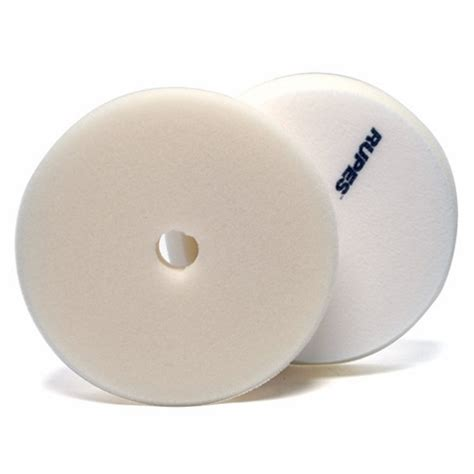 rupes foam finishing pad white 180mm 6 inch backing