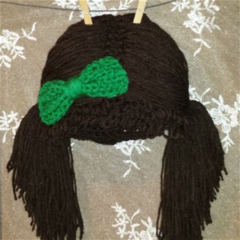 hats with attached bangs shop cabbage patch hat on wanelo