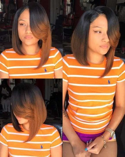 sew ins short on one side and long on other side 17 best ideas about bob sew in on pinterest short sew in