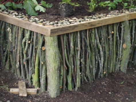 Wood Gardens by Vegans Living The Land Raised Bed Garden Ideas