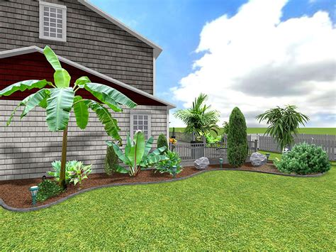 Tropical Backyard Designs by Landscape Design Software Gallery Page 2
