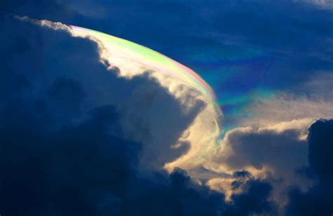 rainbow cloud rare flying rainbow brightens the skies over southern