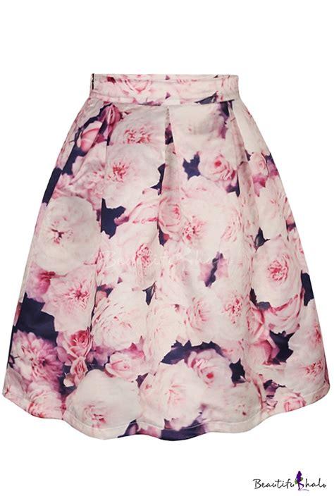 Floral A Line Midi Skirt floral a line midi skirt fashion skirts