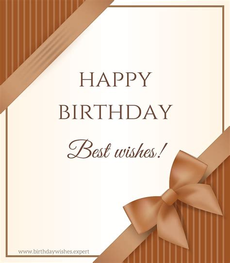Professional Birthday Wishes Quotes Following Protocol Formal Birthday Wishes