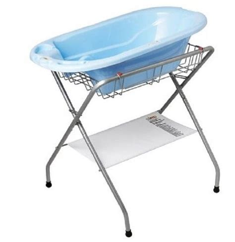 Beaba Folding Baby Bath large folding baby bath stand and tub position