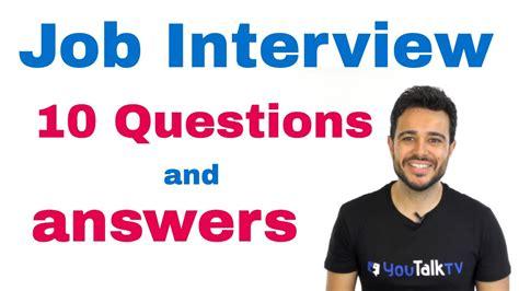ejemplos de preguntas basicas en ingles c 243 mo preparar entrevista de trabajo en ingl 233 s preguntas
