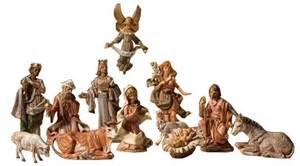 fontanini 50th anniversary 12pc holy family nativity