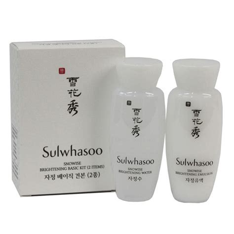 Sulwhasoo Snowise Kit sulwhasoo snowise brightening basic kit 2 items