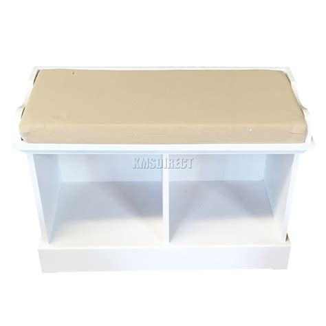 2 basket storage bench foxhunter wood storage bench seat with 2 3 wicker basket