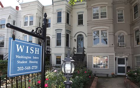 wish housing home stay dc international student housing washington d c wish international