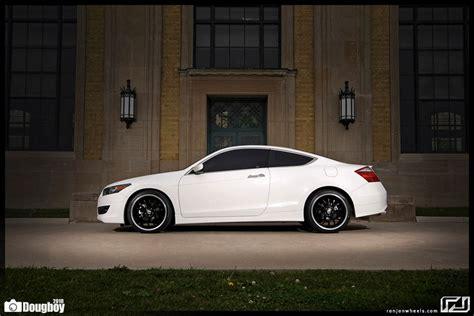 white custom honda accord coupe  album number