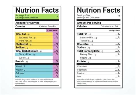 Ingredients Label Template Nutrition Label Templates Ingredients Label Template Free Ingredients Label Template
