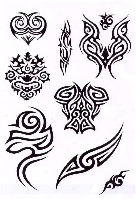 mixed tribal tattoo designs tribal pattern designs www imgkid the image