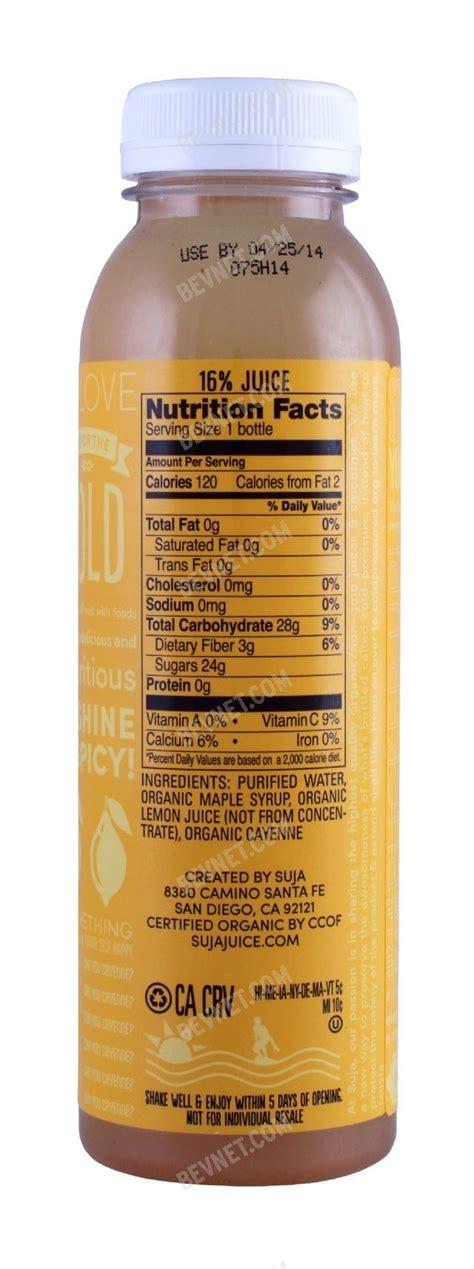 Suja Essentials Detox by Spicy Lemonade Suja Essentials Bevnet Product