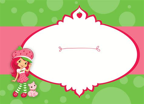 Strawberry Invitations Template Best Template Collection Strawberry Shortcake Invitation Template Free