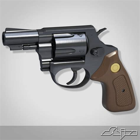 3d gun image 3d home architect 3d model revolver pistol
