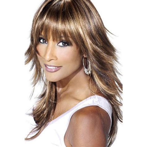 length hairstyles with bangs layered hair for girls the layered beverly johnson medium length layered hairstyles with