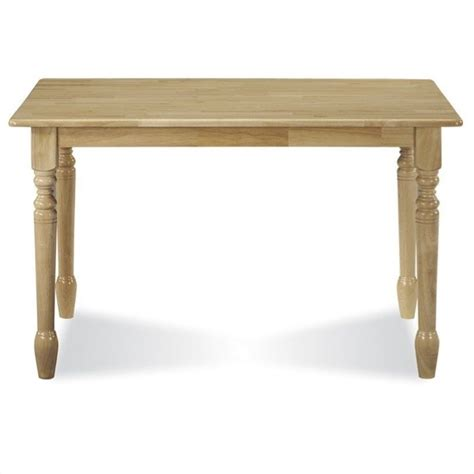 international concepts square casual dining table in white