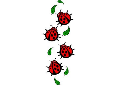 cartoon ladybug tattoo pink lady bug tattoo clipart panda free clipart images