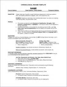 Jobs On Resume In What Order by Work History Resume Job Experience Resume Examples Pics