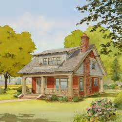 Small Bungalow House Plans by Live Large In A Small House With An Open Floor Plan