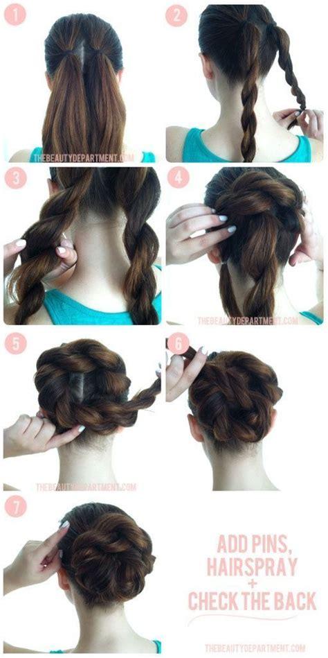how to make a bun with my braids 14 amazing double braid bun hairstyles pretty designs