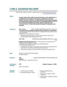 Nursing Resume And Cover Letter nursing resume templates easyjob easyjob
