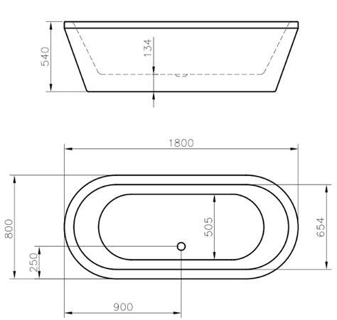 lunghezza vasca da bagno vasca da bagno cassiopea