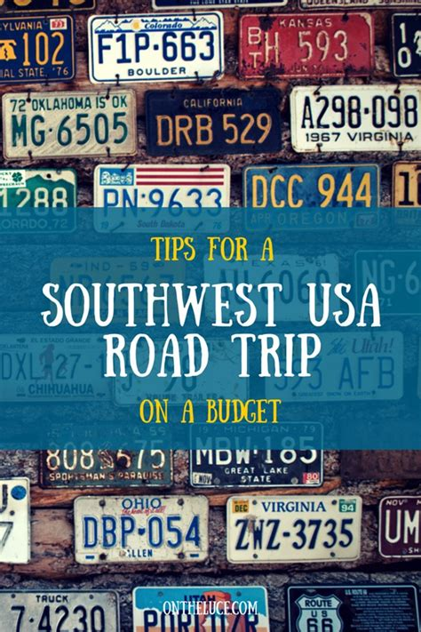 the guide to road racing on a budget books tips for a southwest usa road trip on a budget on the