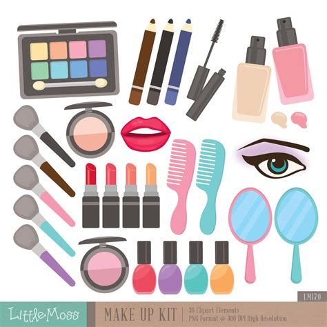 Makeup Kit Makeover makeup clipart makeup kit pencil and in color makeup
