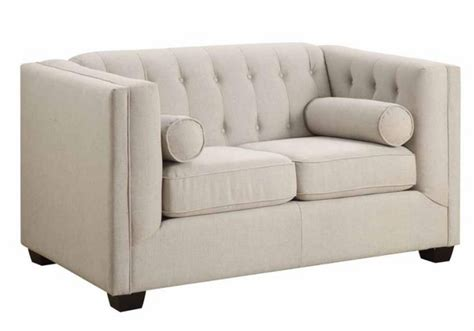 couch cairns cairns modern tufted back sofa loveseat couch chair