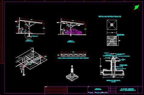 planos de cobertizos gratis plano de cobertizo en autocad descargar cad gratis 187