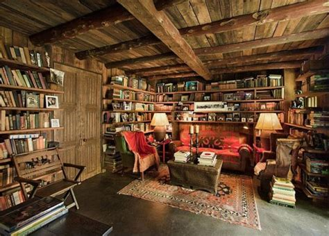 Log Cabin Open Floor Plans by 40 Cool Home Library Ideas Ultimate Home Ideas